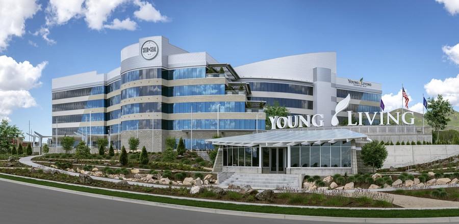 Открытие новой международной штаб-квартиры отпраздновала Young Living